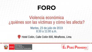 Violencia económica ¿quienes son las víctimas y cómo les afecta
