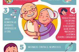 cuidado del adulto mayor recuerda que ellos son los mas afectados