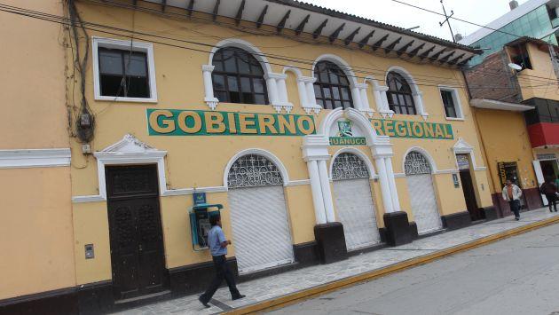 Fachada del Gobierno Regional de Huánuco