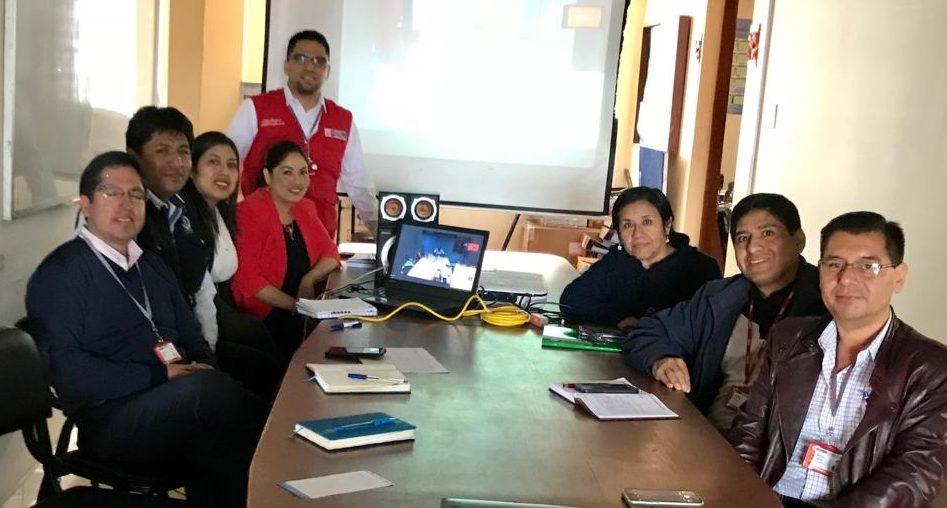 Equipo Técnico de la Gerencia de Desarrollo Social de Cajamarca