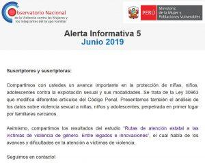 alerta informativa 5