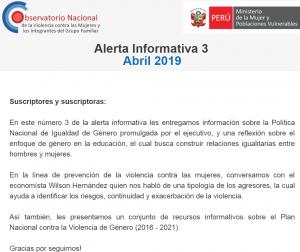 alerta 3 observatorio nacional