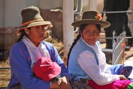 mujer rural peruana