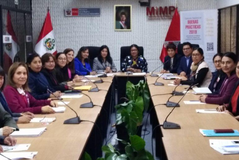 GTN valida el Reglamento Interno y la propuesta de seguimiento del Plan Nacional Contra la Violencia de Género (2016-2021)