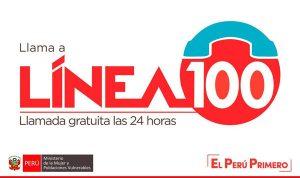 linea100 llamada gratuita las 24 horas