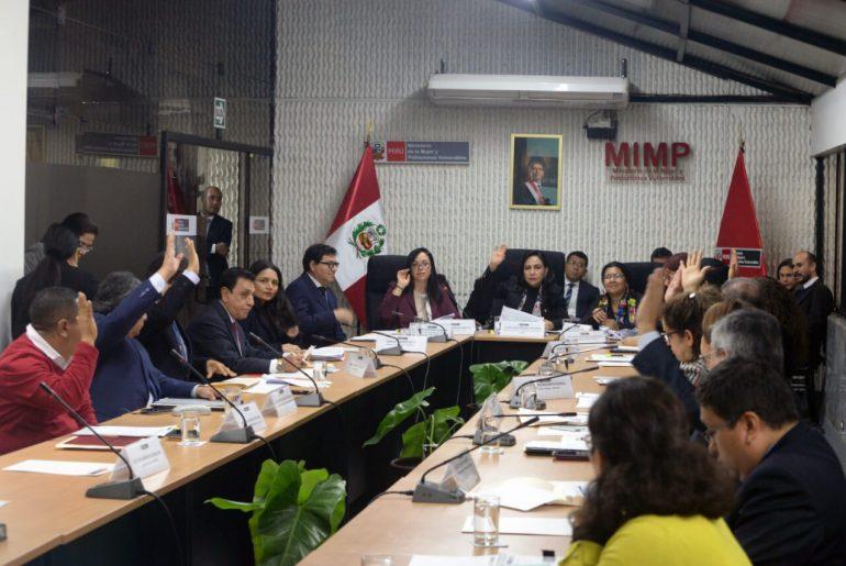 CMAN y PCM presentan avances del Plan de Acción Conjunta contra violencia a las mujeres