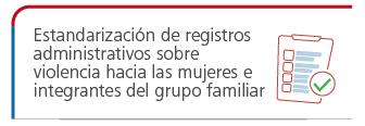 taller Estandarizacion de registros administrativos sobre violencia hacia las mujeres e integrantes del grupo familiar