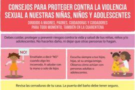 Consejos para proteger contra la Violencia Sexual a nuestras Niñas, Niños y Adolescentes