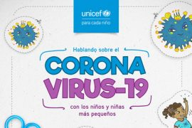 Hablando sobre el Coronavirus-19 con los niños y niñas más pequeños-UNICEF