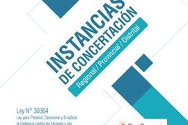 instancias de concertacion regional provincial distrital