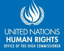 logo for united nations human rights covid