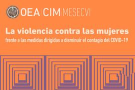 La violencia contra las mujeres frente a las medidas dirigidas a disminuir el contagio del COVID-19