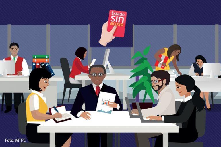Estado sin acoso estrategia para prevenir, investigar y sancionar el hostigamiento sexual en entidades públicas