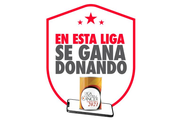 Participa de la COLECTA DIGITAL 2021 de la Liga Contra El Cáncer