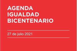 agenda igualdad bicentenario